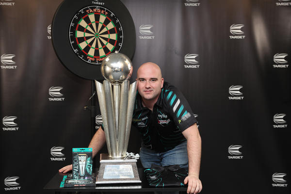 Rob 'Voltage' Cross PDC World Darts Champion 2018