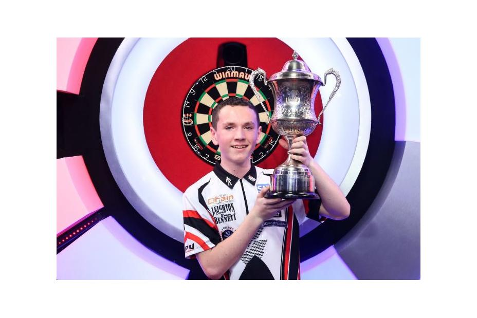 783a458b26b Teenager Leighton Bennett hs already made history by becoming the youngest  ever world darts champion