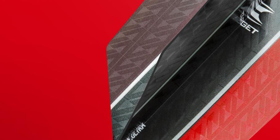 Vision Ultra Flights Vapor8 Black Red