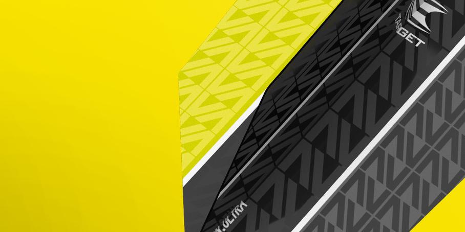 Vision Ultra Flights Black Yellow