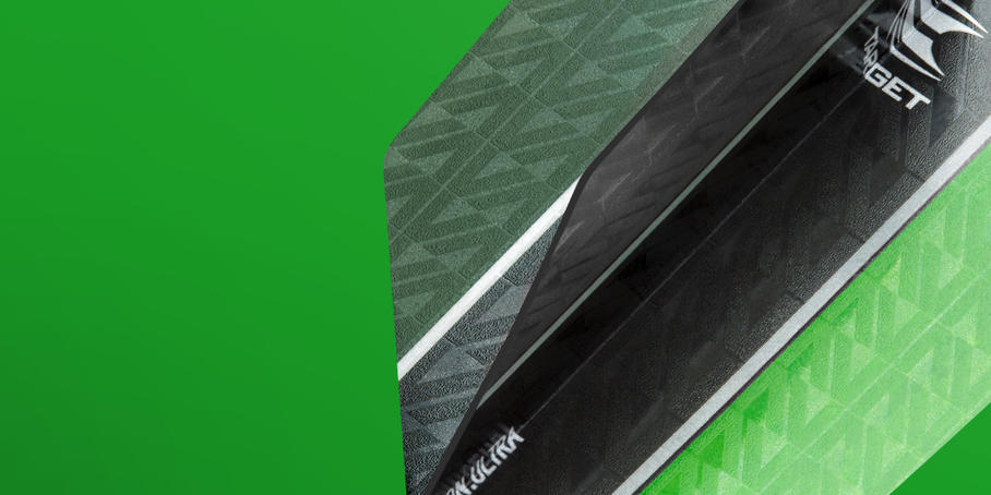 Vision Ultra Flights Black Green