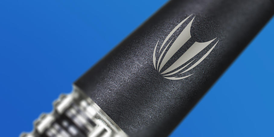 Hand sandblasted shaft for Phil Taylor Power 9-Five Generation 4 Japan Edition