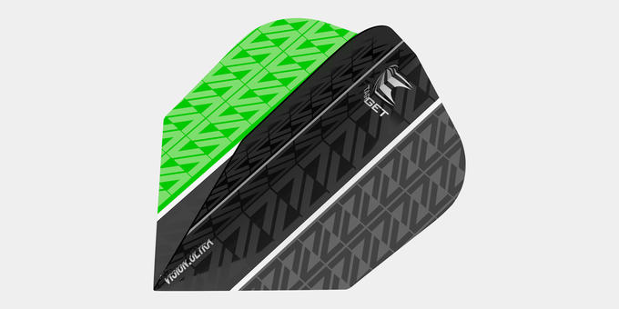 Vapor 8 Black Green flight
