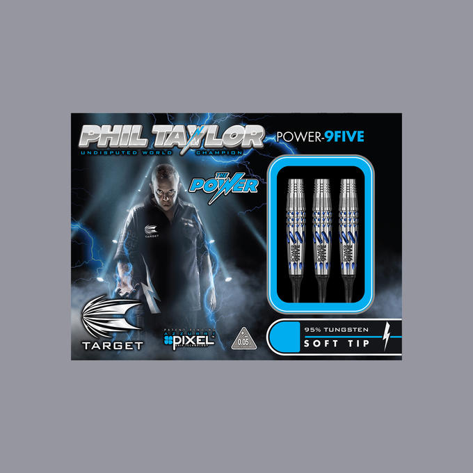 Phil Taylor Power 9-Five Gen 1 Japan Edition Soft Tip Packaging