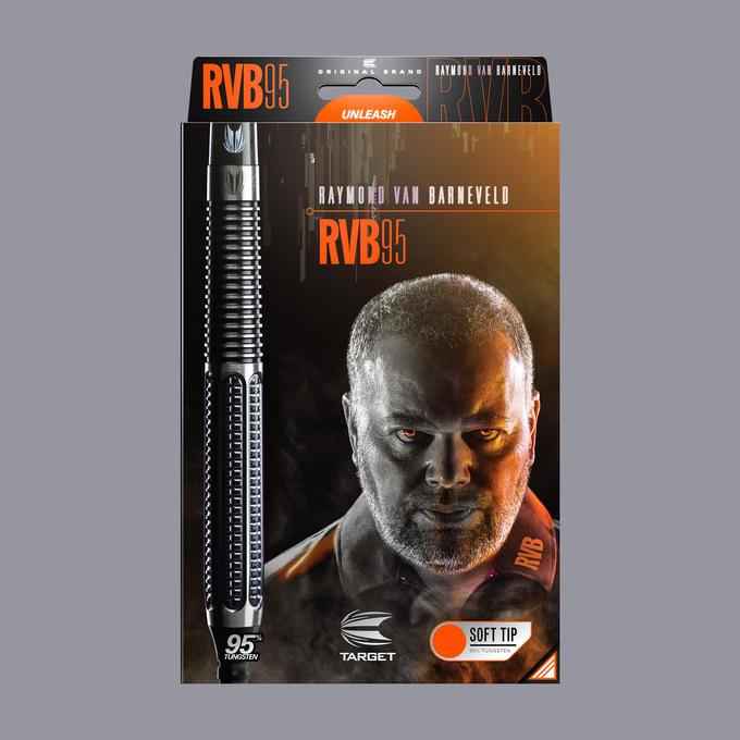 Raymond Van Barneveld RVB 95 Gen 1 Soft Tip Packaging