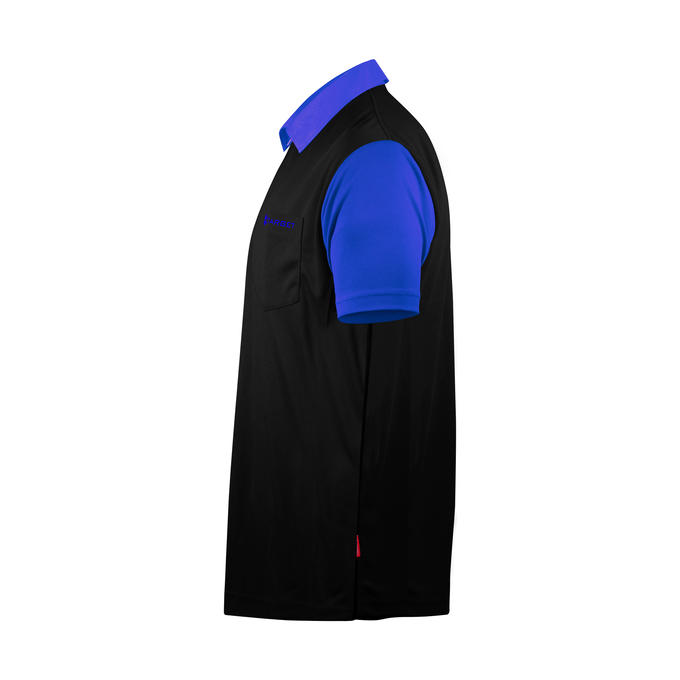 Coolplay Hybrid 2 Black and Blue Shirt - Side View
