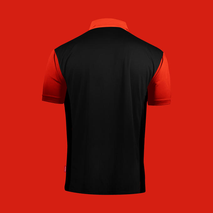 Coolplay Hybrid 2 Black and Red Shirt - Back View