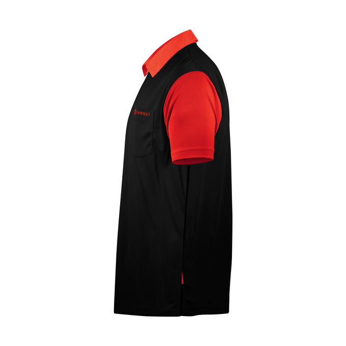 Coolplay Hybrid 2 Black and Red Shirt - Side  View