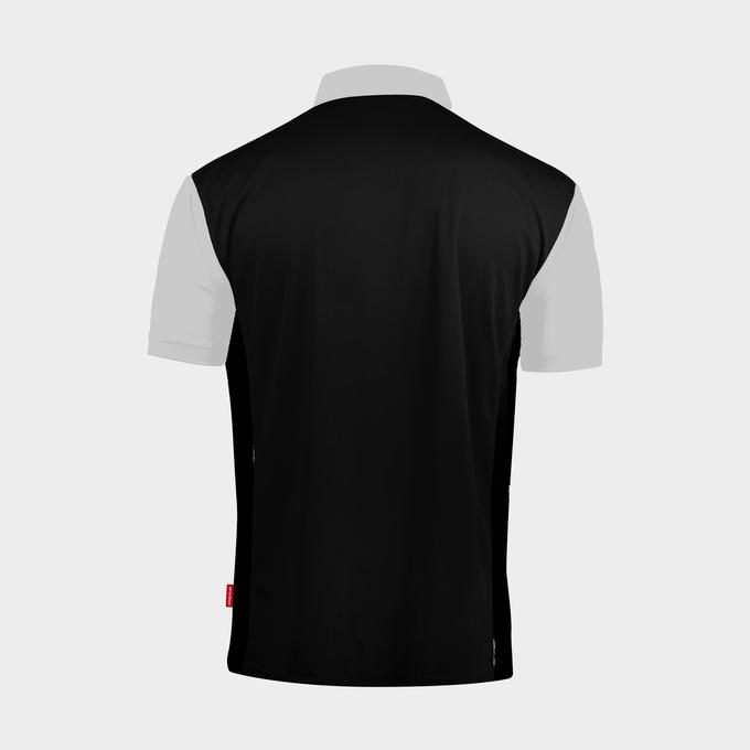 Coolplay Hybrid 2 Black and White Shirt - Back View