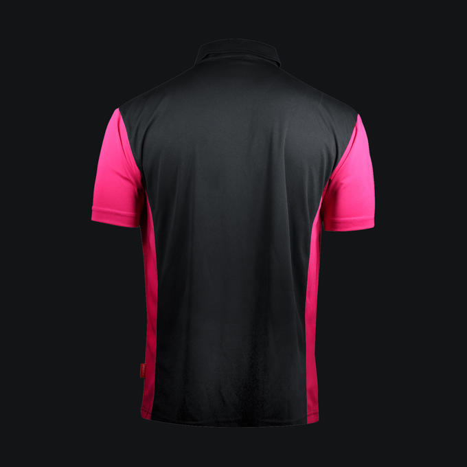 Coolplay Hybrid 3 Shirt Black & Pink - Back View