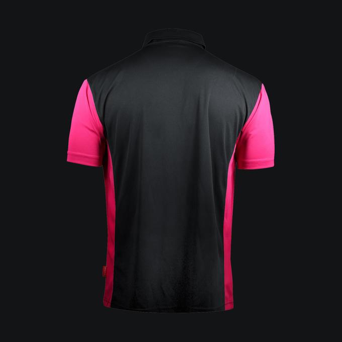 Coolplay Hybrid 3 Shirt Black & Pink - Back View