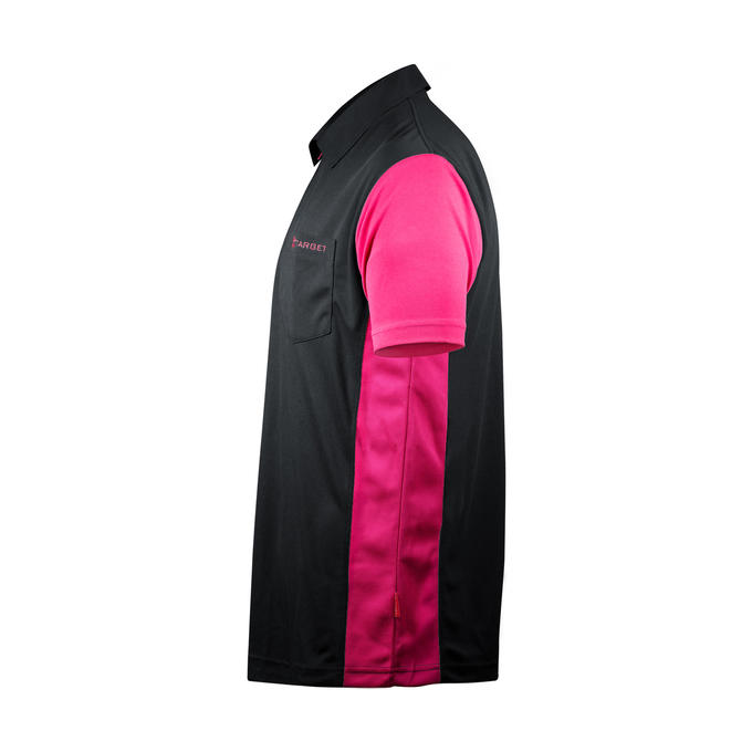 Coolplay Hybrid 3 Shirt Black & Pink - Side View
