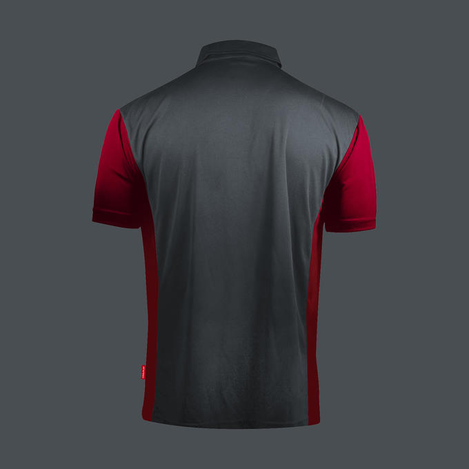 Coolplay Hybrid 3 Shirt Grey & Black - Back View