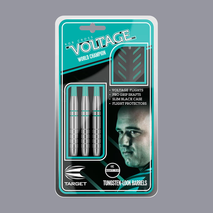 Rob Cross Silver Voltage Soft Tip Packaging