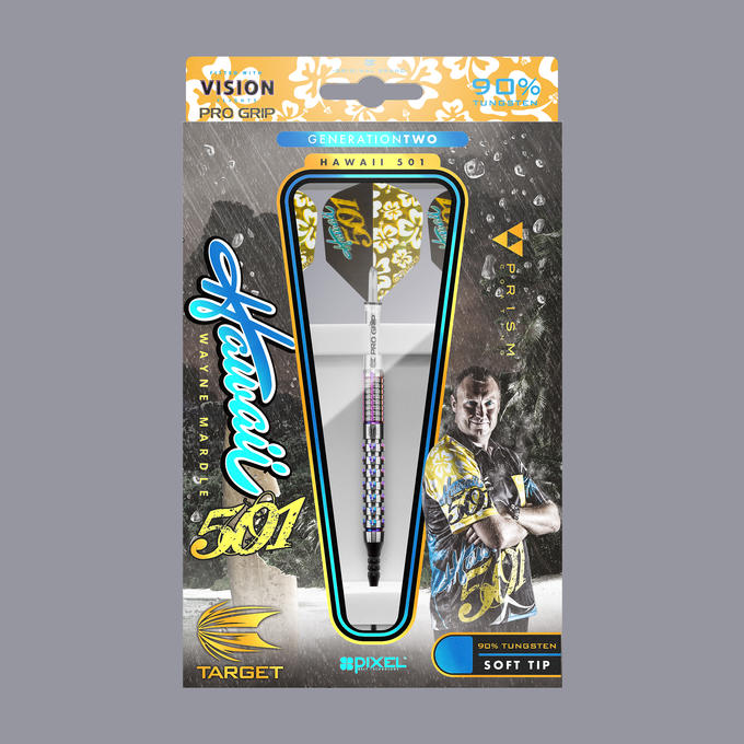 Wayne Mardle Gen 2 Soft Tip Packaging