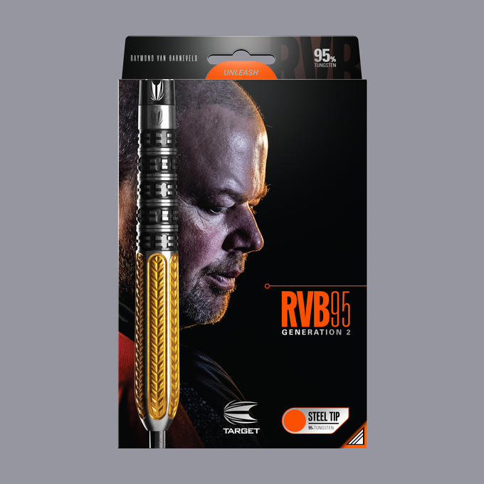 Raymond Van Barneveld RVB Gen 2 Soft Tip Packaging