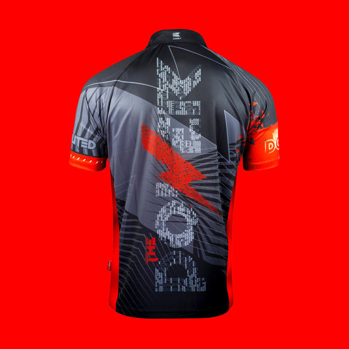 Phil Taylor Generation 3 Playing Shirt - Back View