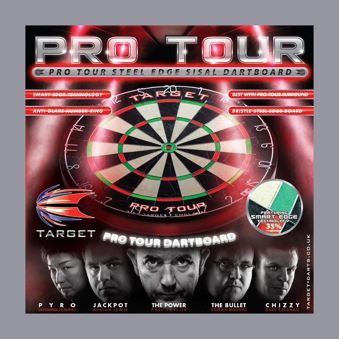 Pro Tour Dartboard Box Cover