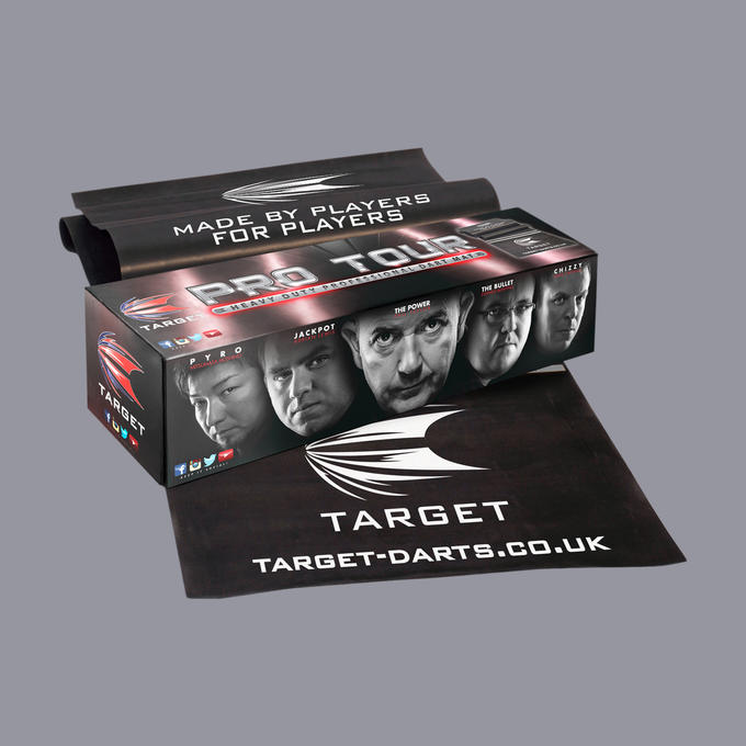 Pro Tour Dart Mat Packaging