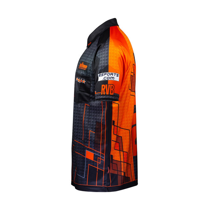 Official Raymond Van Barneveld Gen 2 Playing Shirt - Side View