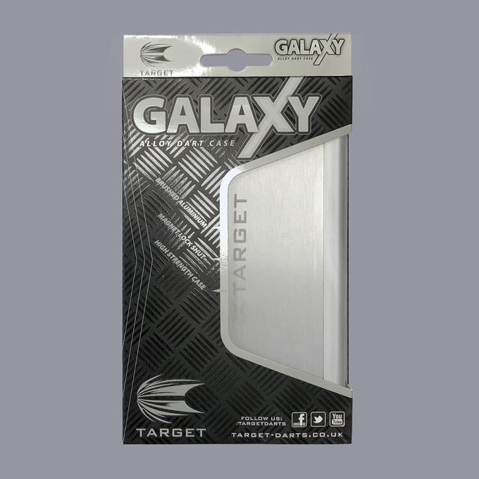 Galaxy Aluminium Case - Silver Packaging