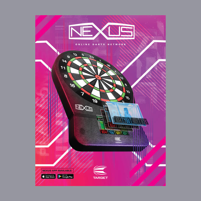 Nexus Electronic Dartboard Packaging