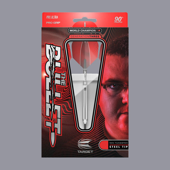 Stephen Bunting G3 Steel Tip Packaging