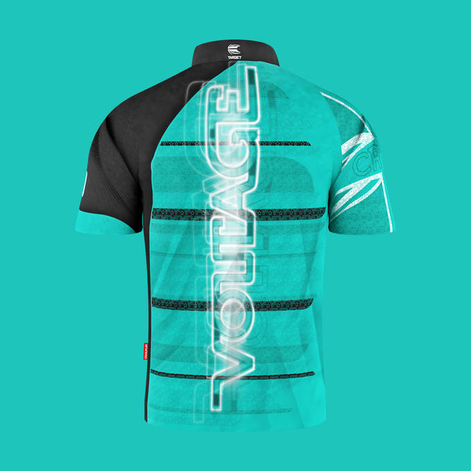 Official Rob Cross Gen 2 Playing Shirt - Back View