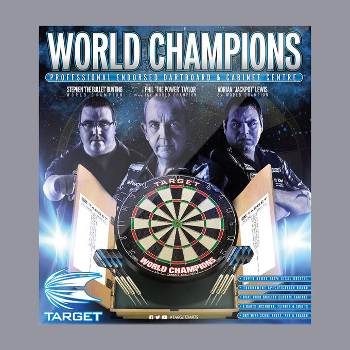 World Champions Home Cabinet Set packaging
