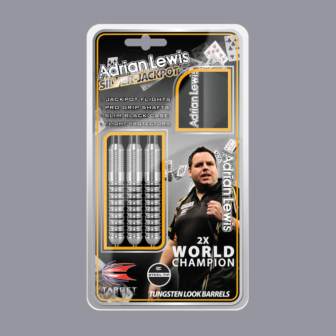 Adrian Lewis Silver Jackpot packaging