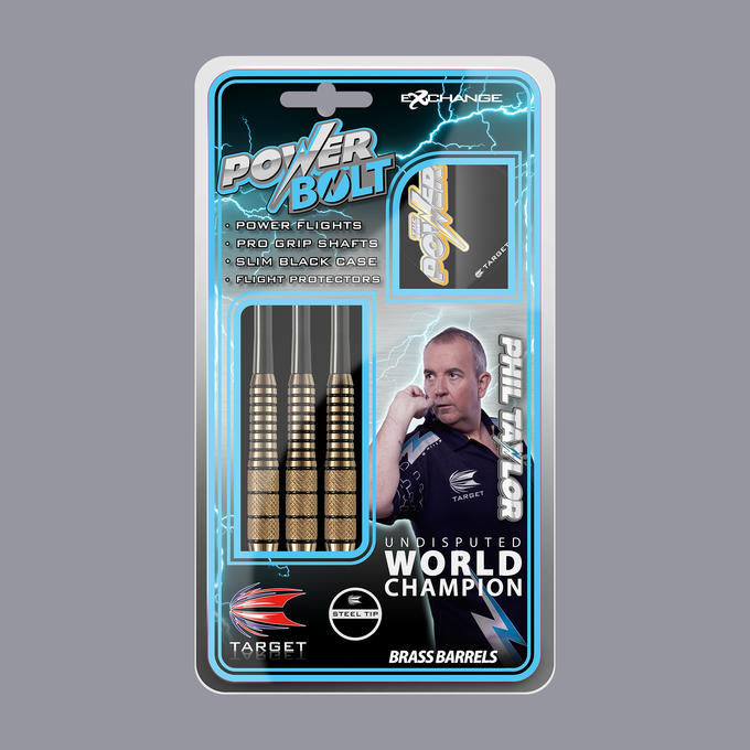 Phil Taylor Power Bolt GK packaging
