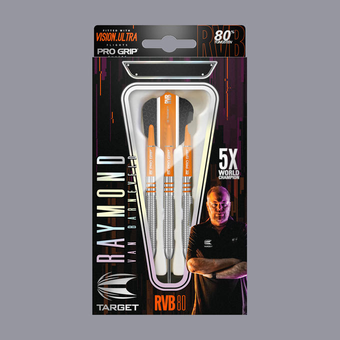 Raymond Van Barneveld RVB 80% packaging