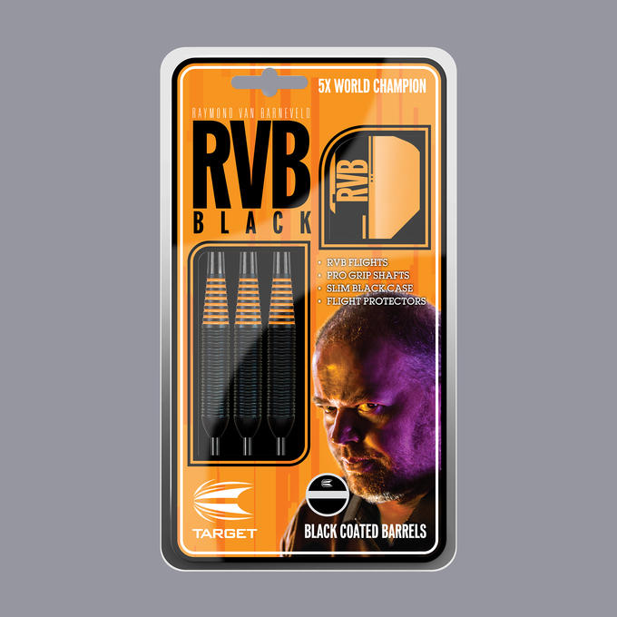 Raymond Van Barneveld RVB Black packaging