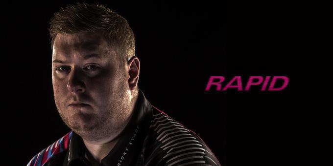 'Rapid' Ricky Evans hero banner