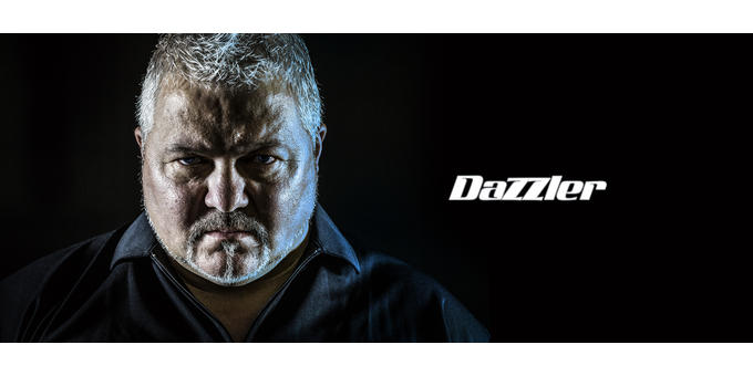 Darryl 'The Dazzler'  Fitton hero banner