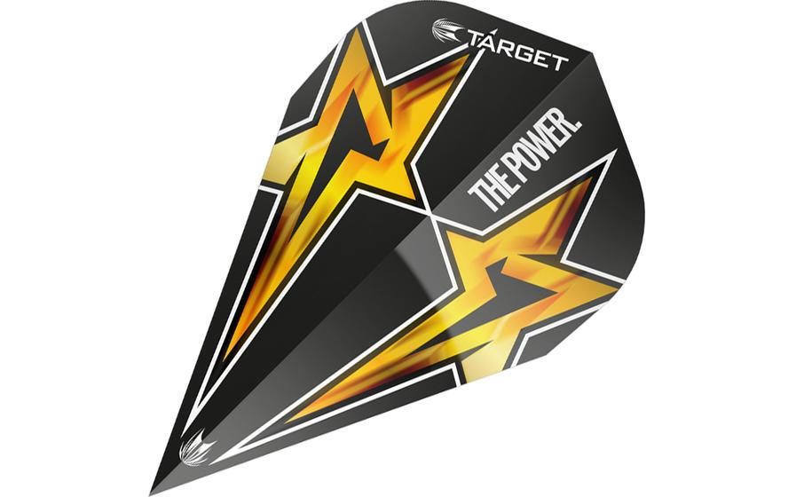 Phil Taylor Power Star Black Vapor Flight