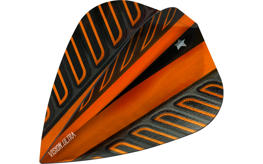 Rob Cross Voltage Flight Orange Kite