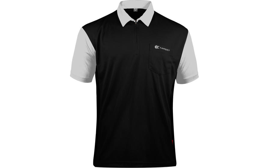Coolplay Hybrid 2 Black and White Shirt - Front View