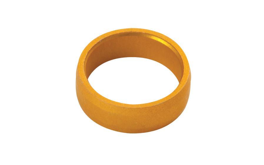 Slot Lock Rings Gold