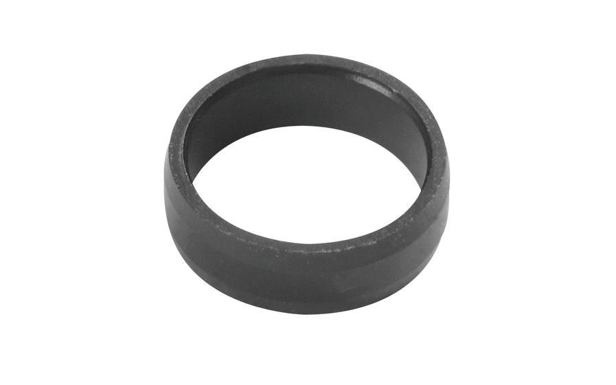 Slot Lock Rings Black