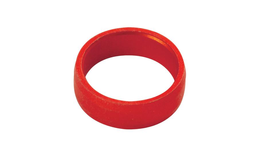 Slot Lock Rings Red