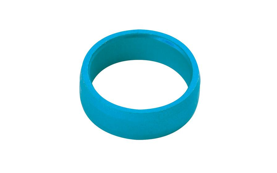 Slot Lock Rings Blue