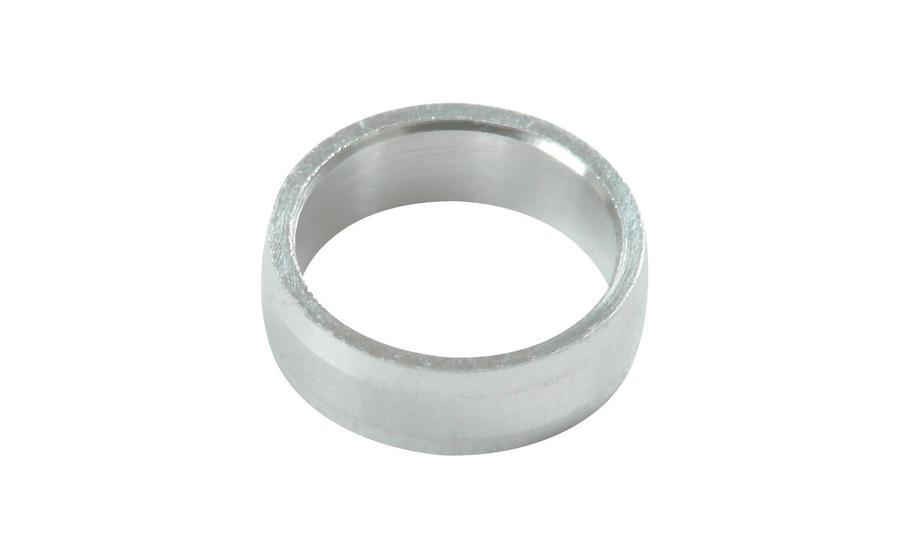 Slot Lock Rings Silver