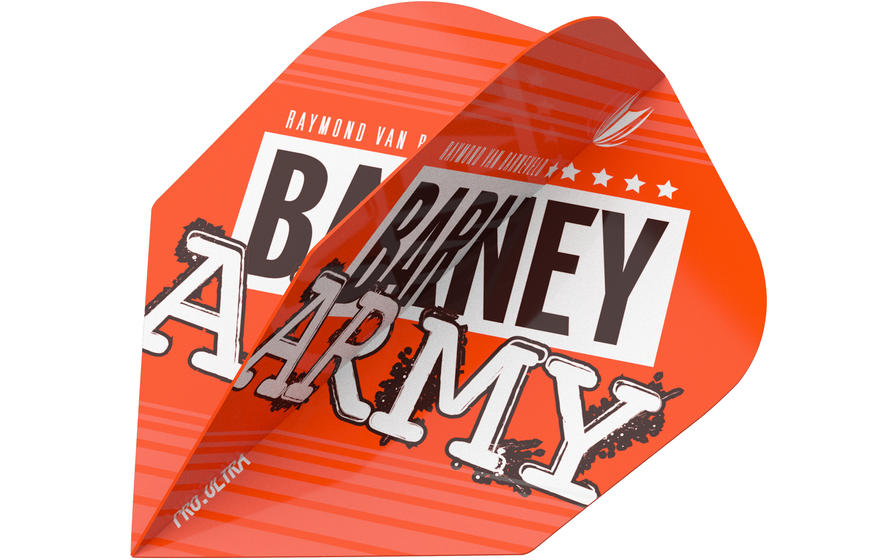 Raymond Van Barneveld Barney Army Orange NO.6