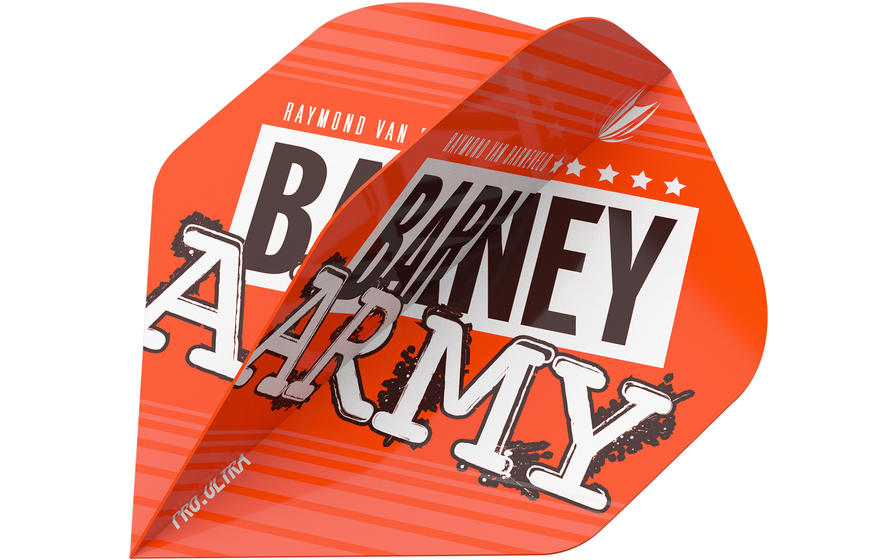 Raymond Van Barneveld Barney Army Orange NO.2