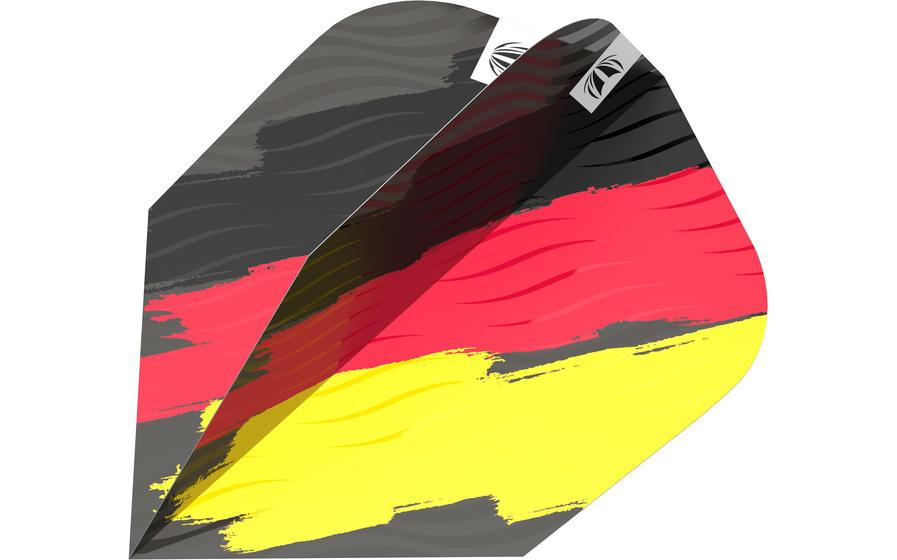 German Flag Ten-X Flight