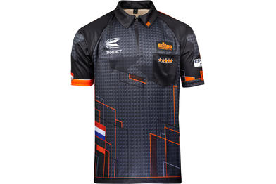 Official Raymond Van Barneveld Gen 2 Playing Shirt - Front View