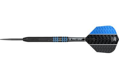 Vapor8 Black Blue Steel Tip Dart