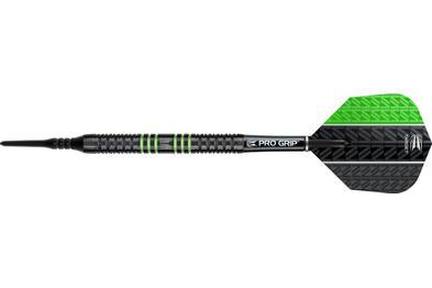 Vapor8 Black Green Soft Tip Dart