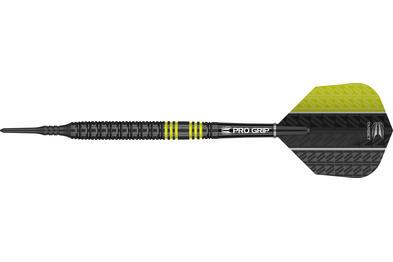 Vapor8 Black Yellow Soft Tip Dart